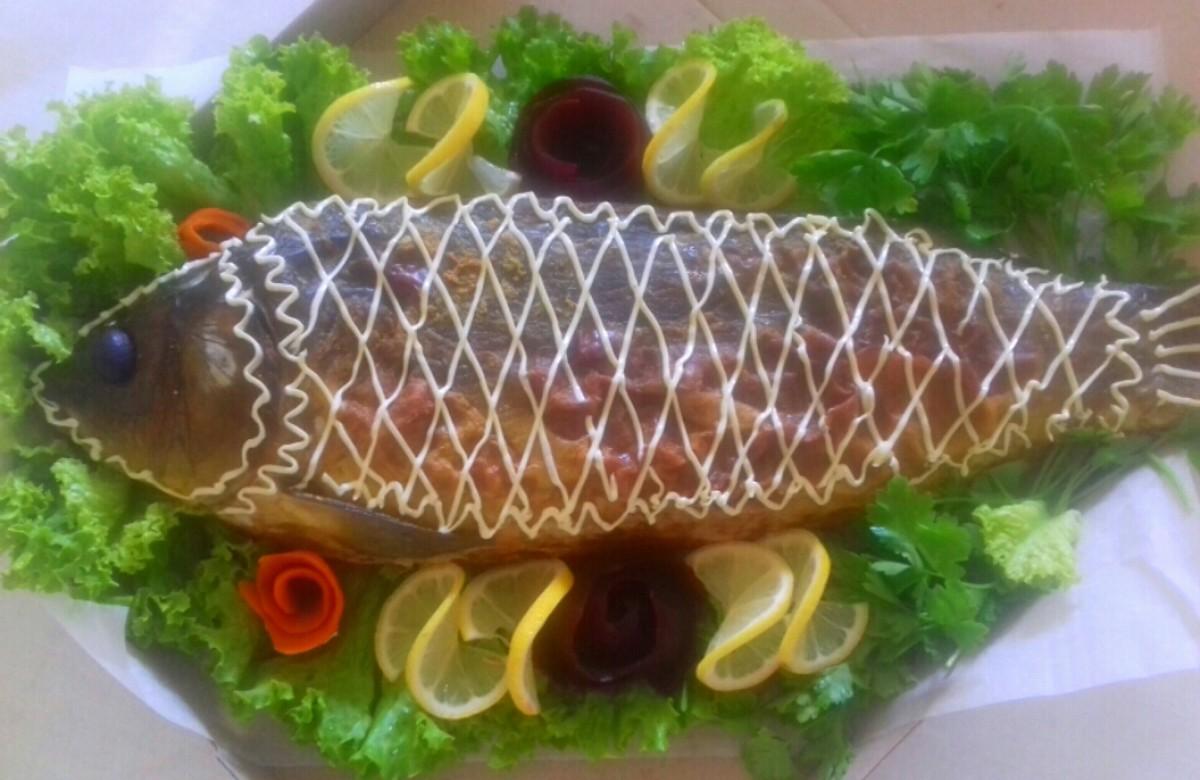 Фаршированная рыба: (290)  - 2