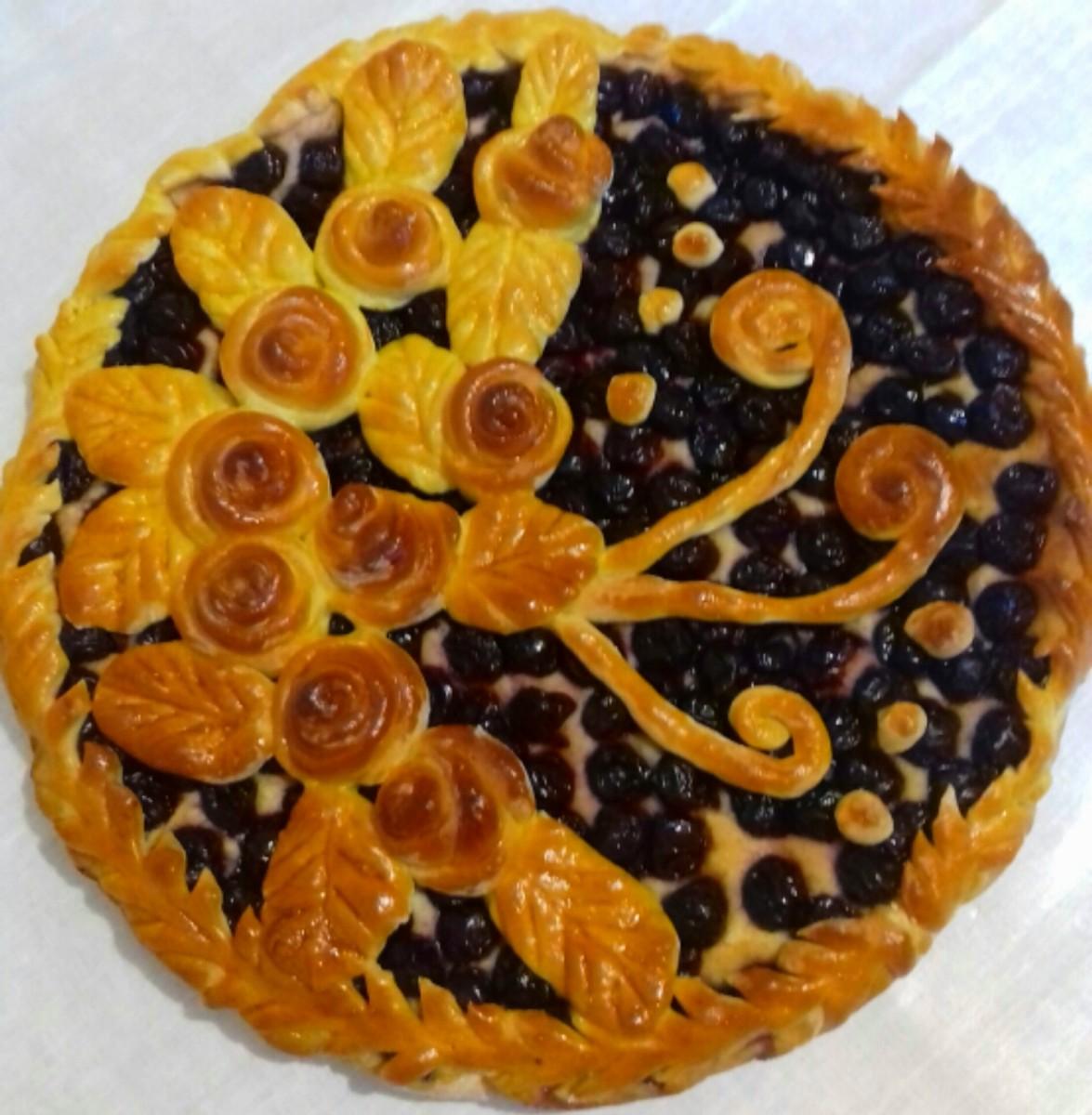 Домашний пирог: (70)  - 3