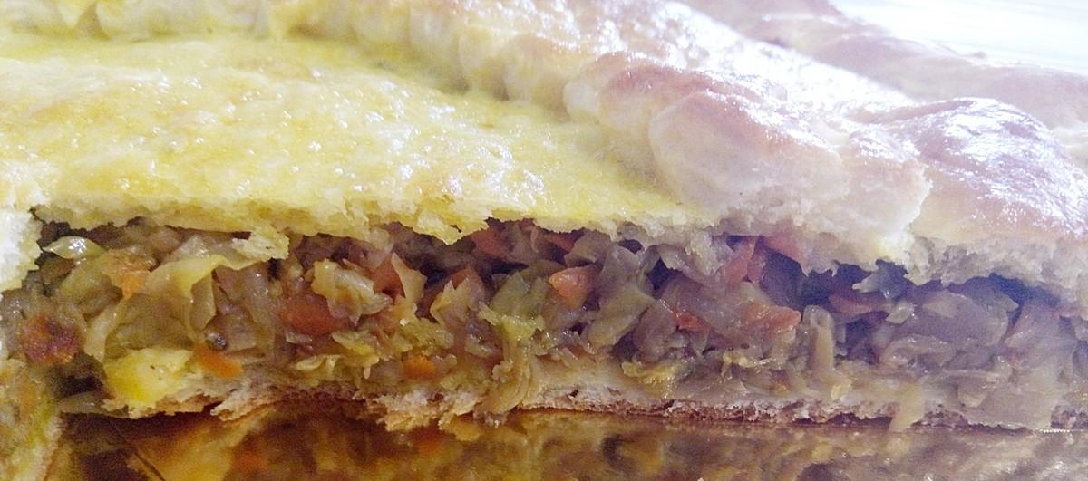 Пирог с капустой: (170)  - 2