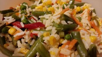 Рис с овощами: (30)