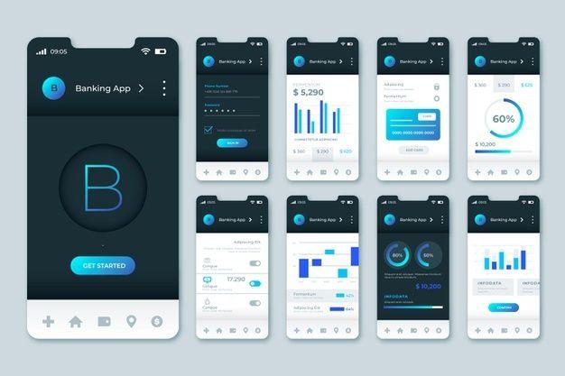 I will Create Application UI Design