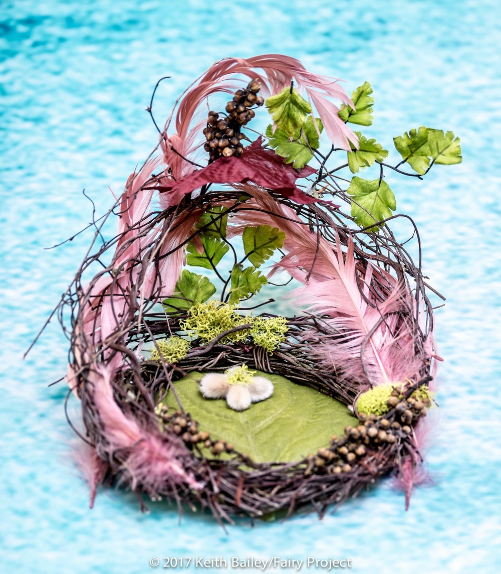 The Fairy Project - Pink Woman's March Feather Nest