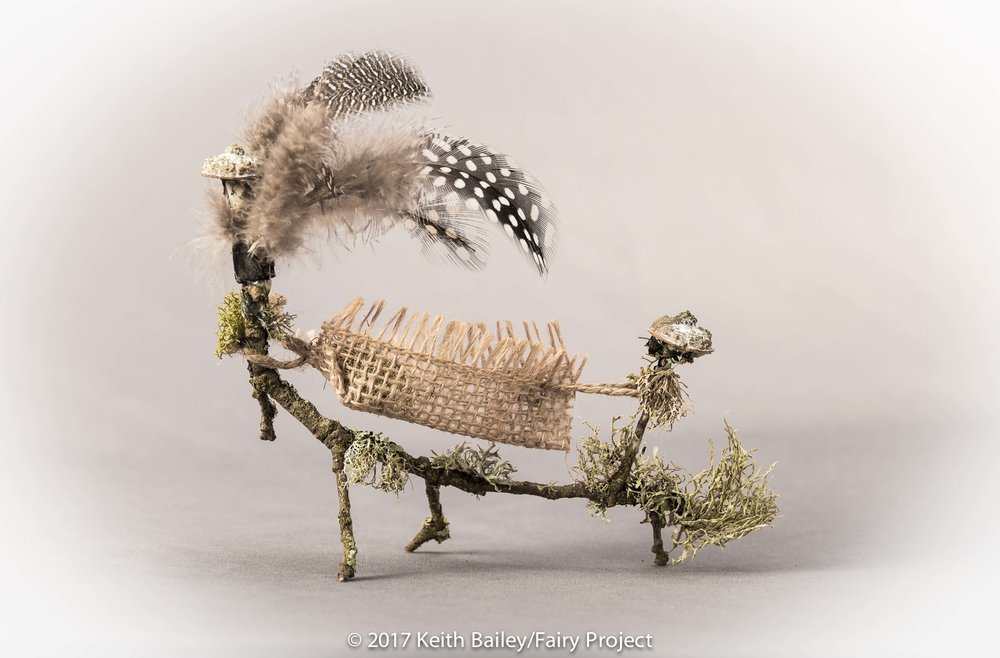 The Fairy Project - Feather Hammock