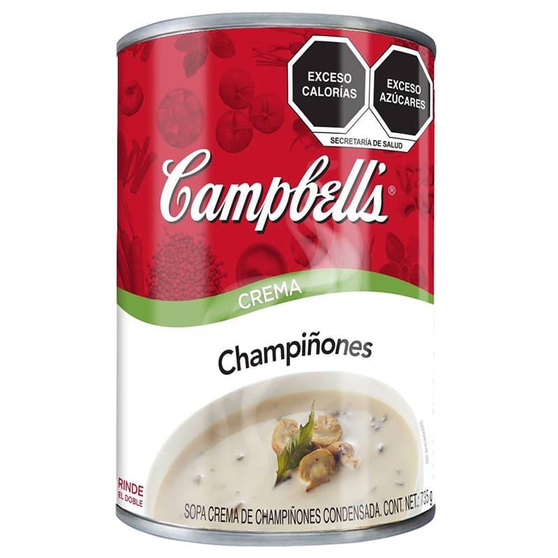 CREMA DE CHAMPIÑONES CAMPBELLS 305GRS