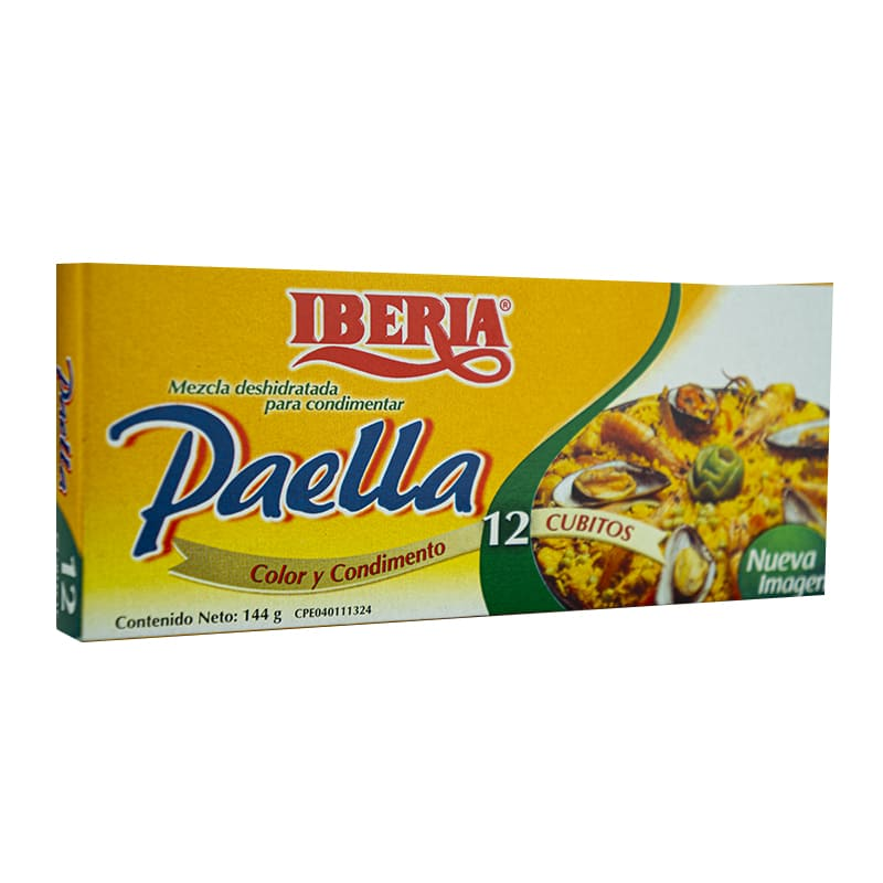 CUBITO PARA PAELLA IBERIA 12 UNIDADES