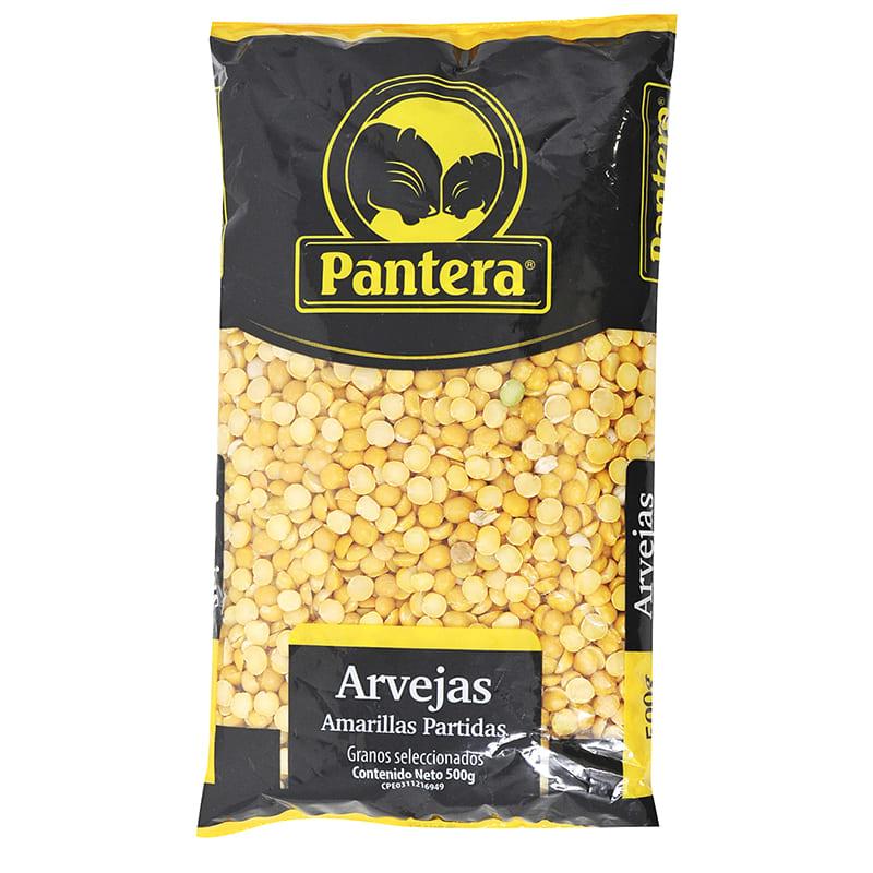ARVEJAS AMARILLAS PARTIDAS PANTERA 500 GR