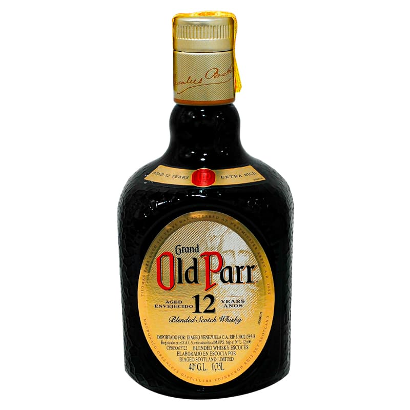WHISKY OLD PARR 0,75ML