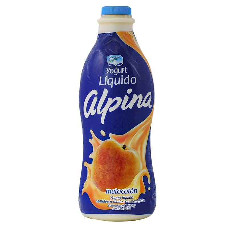 YOGURT LIQUIDO ALPINA MELOCOTON 1600 GR