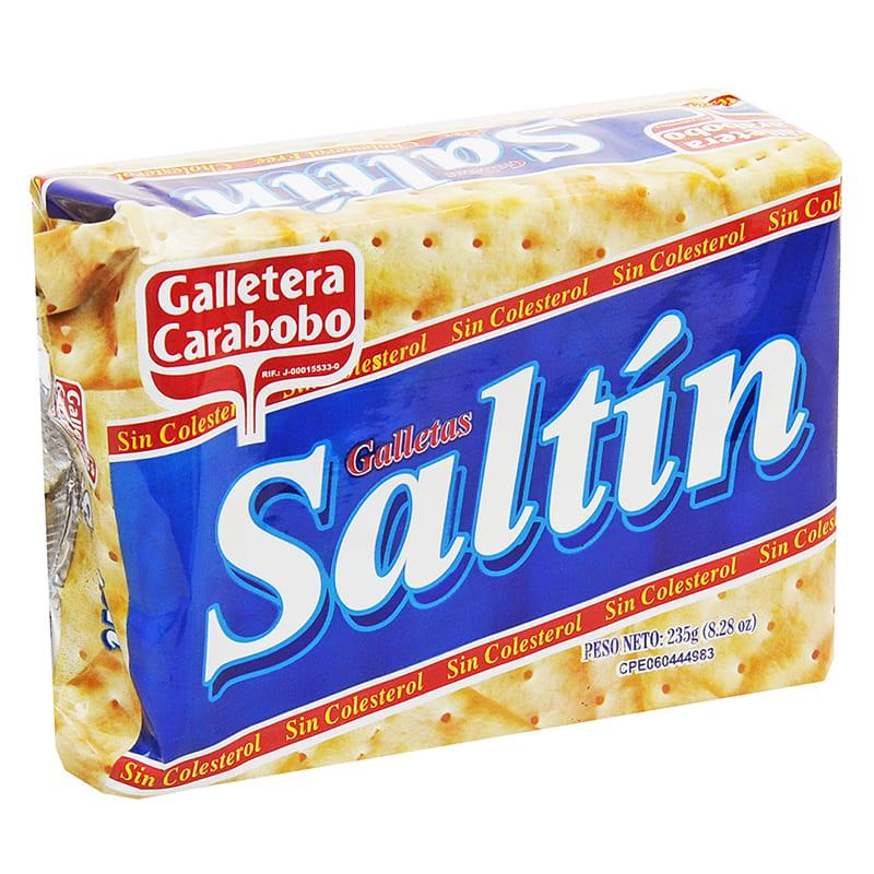GALLETA SALTIN CARABOBO 235 GR