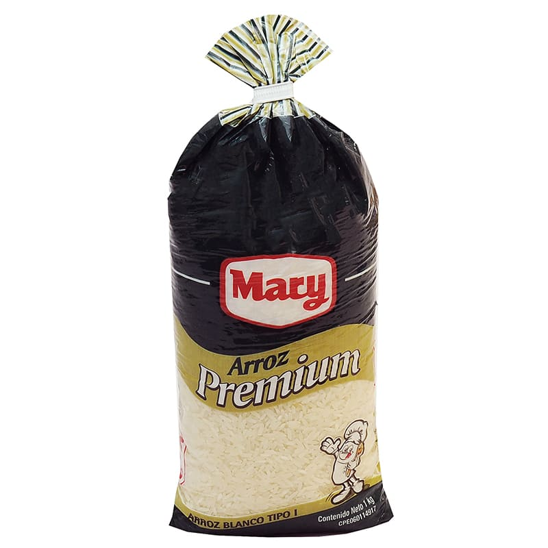 MARY ARROZ PREMIUM TIPO I 99 GRANOS ENTEROS 1 KG