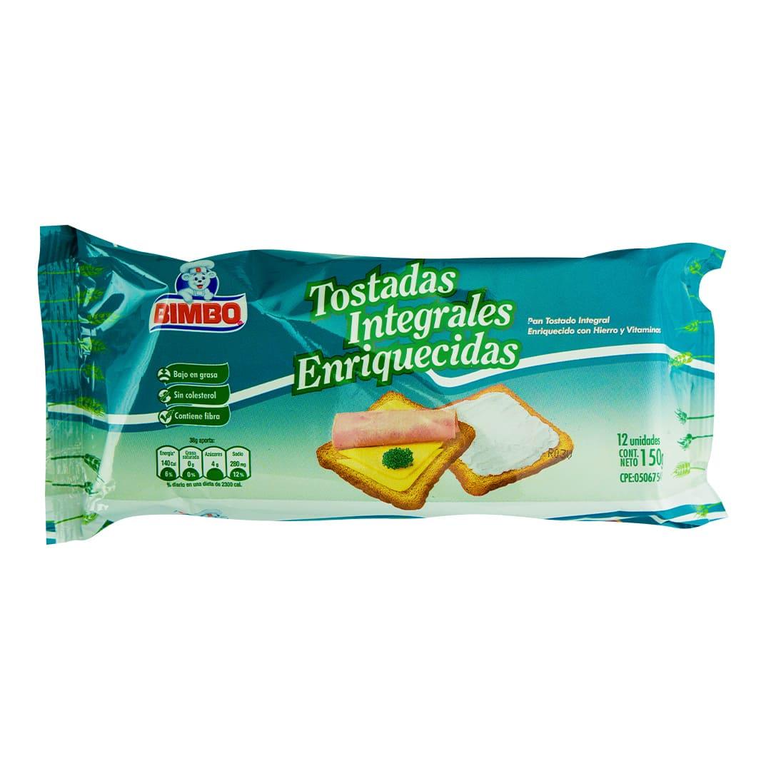 PAN TOSTADO BIMBO DIET 12 UND 150 GR