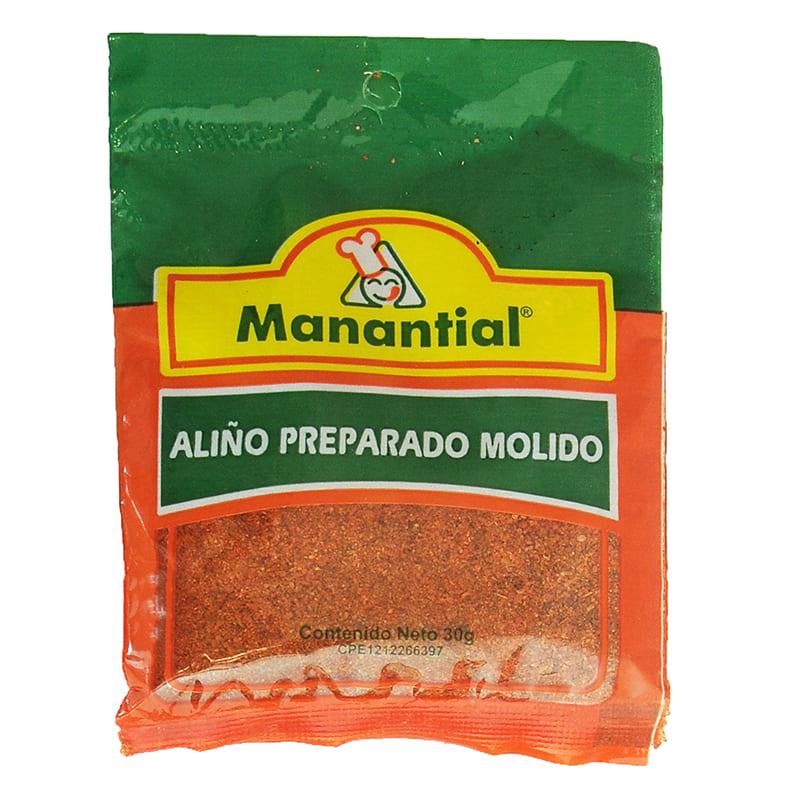 ALIÑO PREPARADO MANANTIAL MOLIDO 30GR