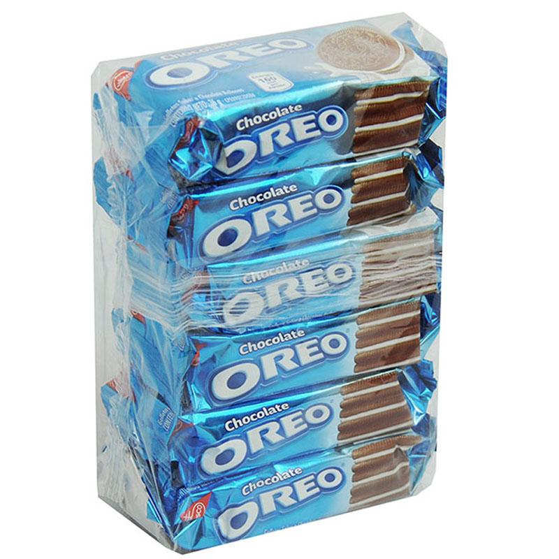 GALLETAS OREO DE CHOCOLATE 6 UNIDADES 216GR