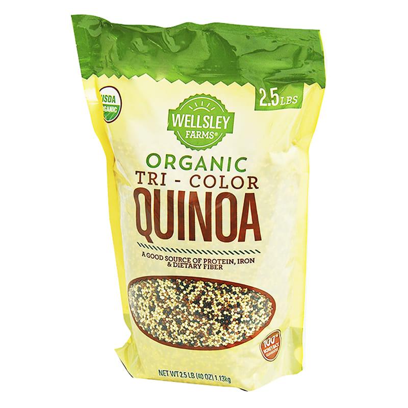 QUINOA ORGANICA WELLSLEY FARMS TRI-COLOR