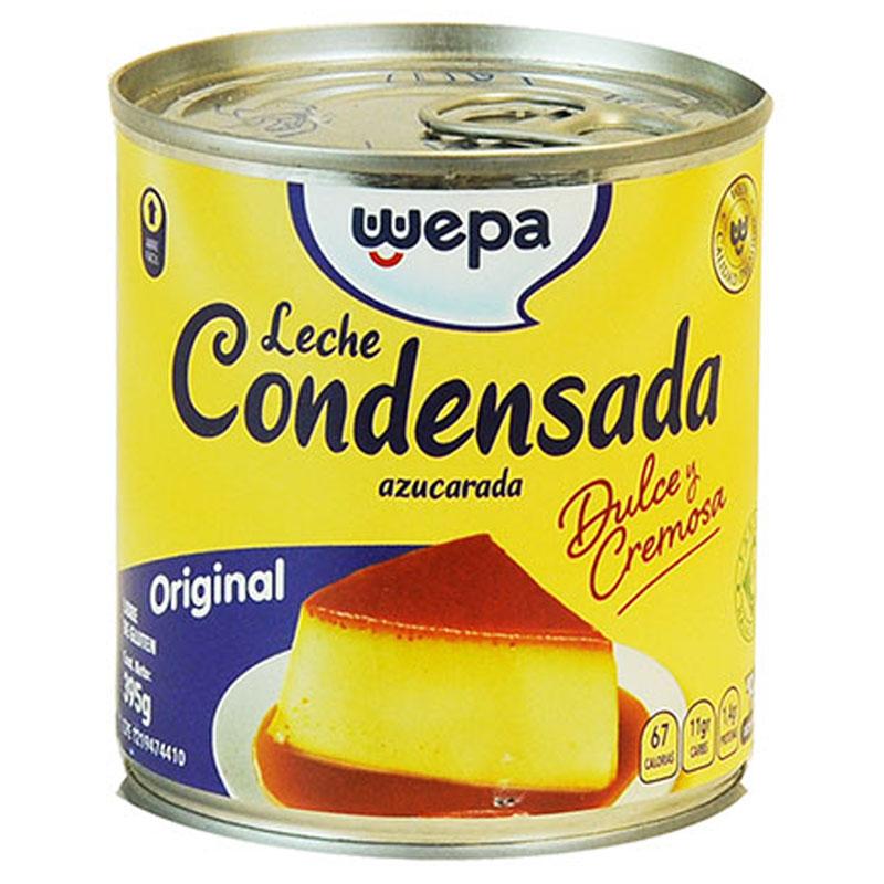 LECHE CONDENSADA WEPA 395 GR
