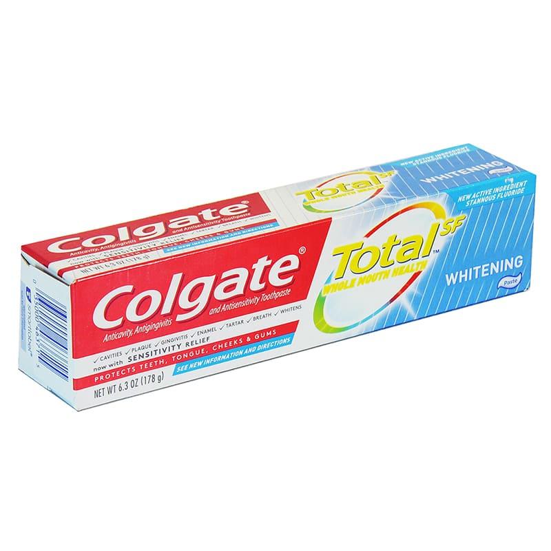 Crema DENTAL TOTAL WHITENING COLGATE 178GR
