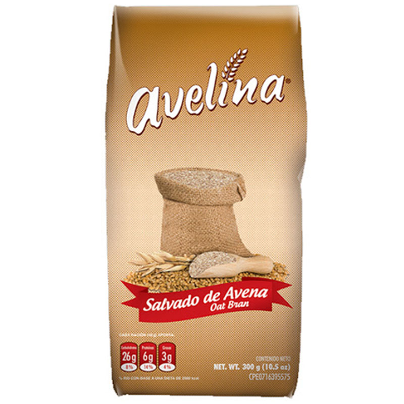 SALVADO DE AVENA AVELINA 300 GR