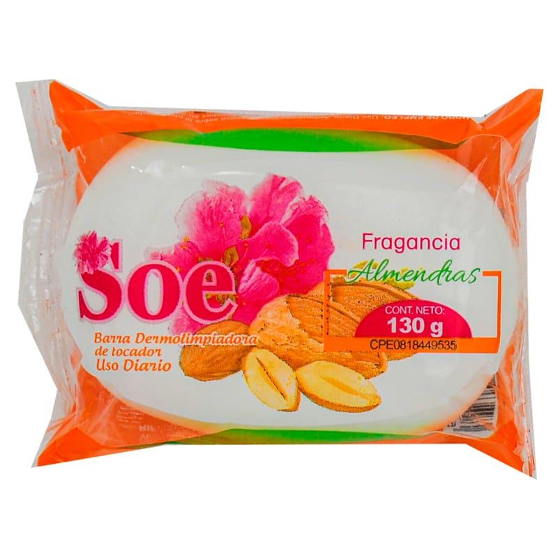 SOE JABON DE TOCADOR ROSAS 130GR