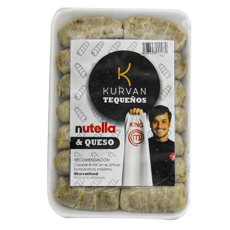 TEQUEÑO NUTELLA QUESO KURVAN 580G