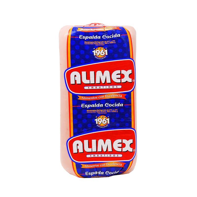 JAMÓN DE ESPALDA ALIMEX COCIDA 250 GR