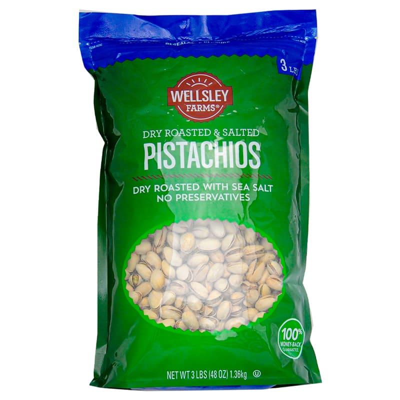 PISTACHIOS WELLSLEY FARMS 1.36 KG