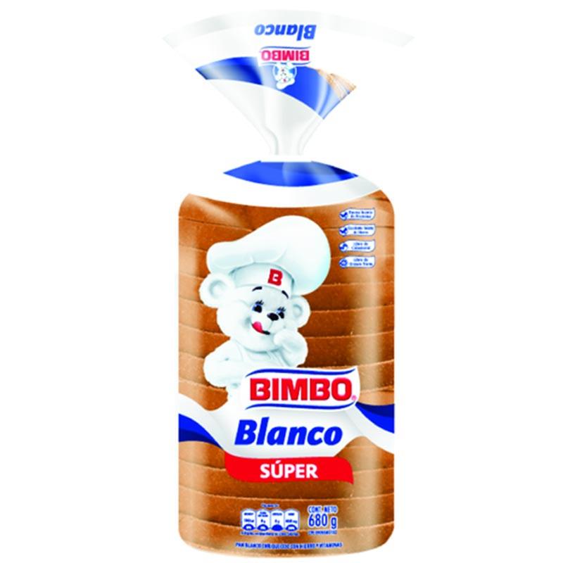 PAN de sandwich BLANCO BIMBO 680 GR