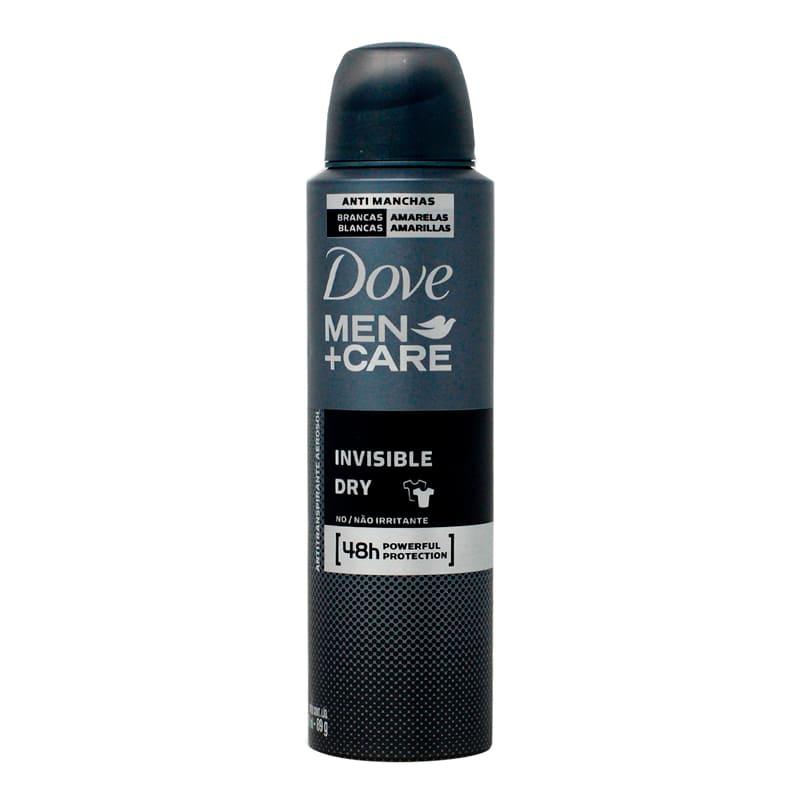 Desodorante en Aerosol Dove Men Invisible Dry 150ml