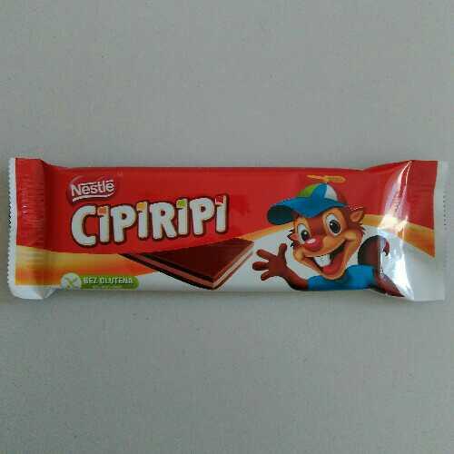 Cipiripi čokolada
