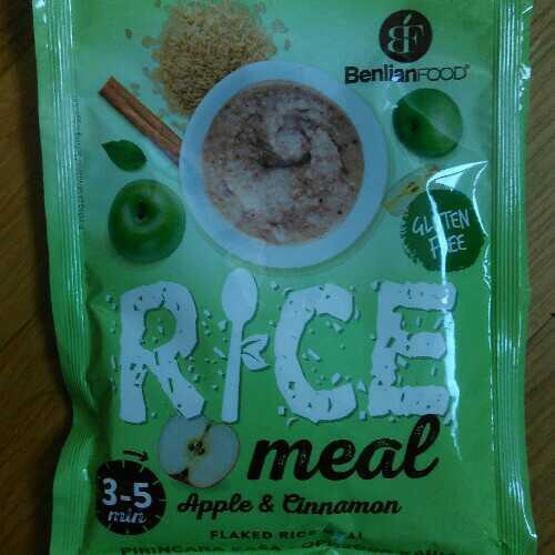 Rice Meal apple & cinnamon