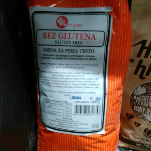 Smesa za pizza testo