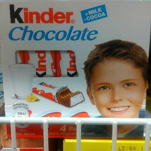 Kinder Chocolate 4 cokoladice