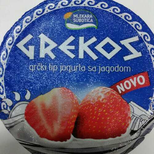 Grekos - grcki jogurt sa ukusom jagode