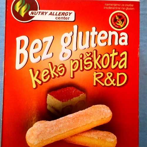 Keks Piškota R&D bez glutena