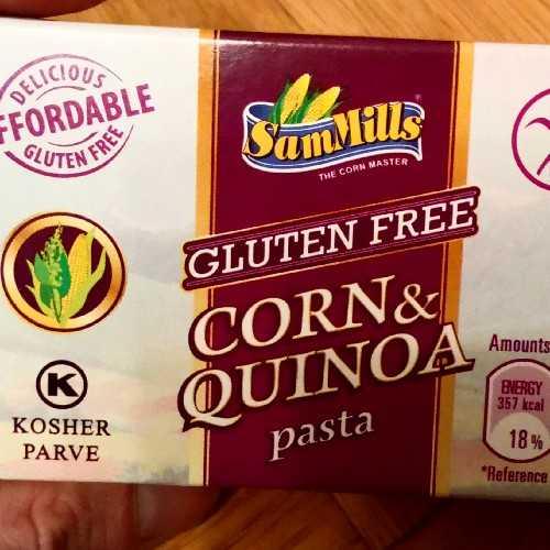 Corn & Quinoa Pasta