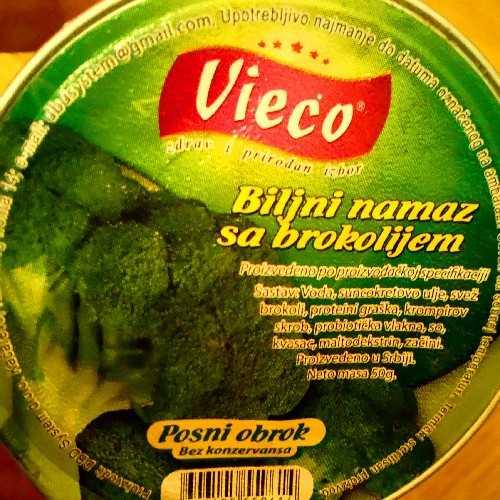 Biljni Namaz sa brokolijem