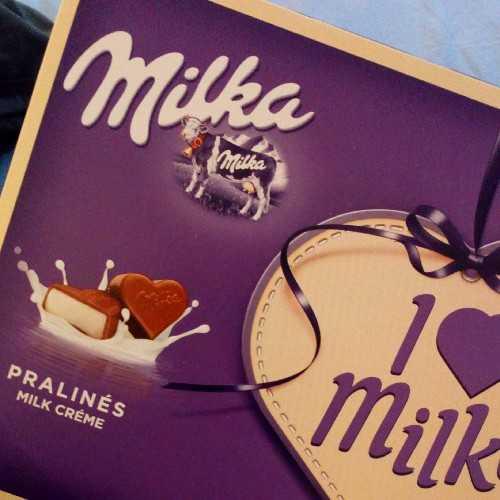 Milka Pralines