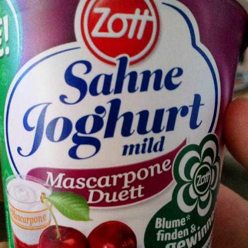 Sahne Joghurt