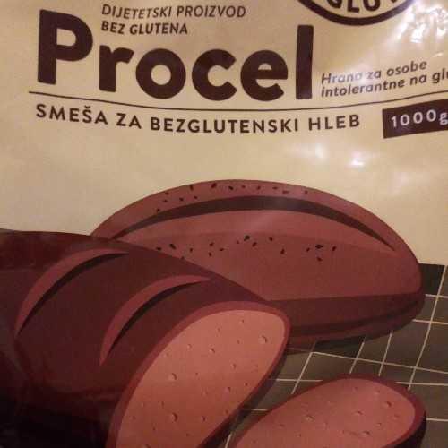 Procel bezglutenski hleb - recept sa ambalaže