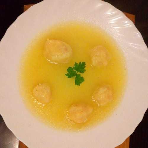 Griz knedlice za supu