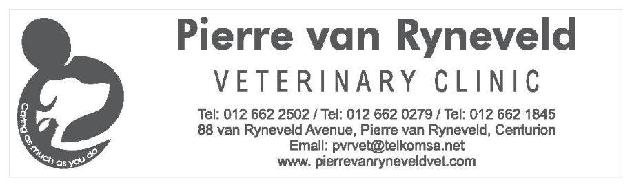 Pierre van Ryneveld Veterinary Clinic logo