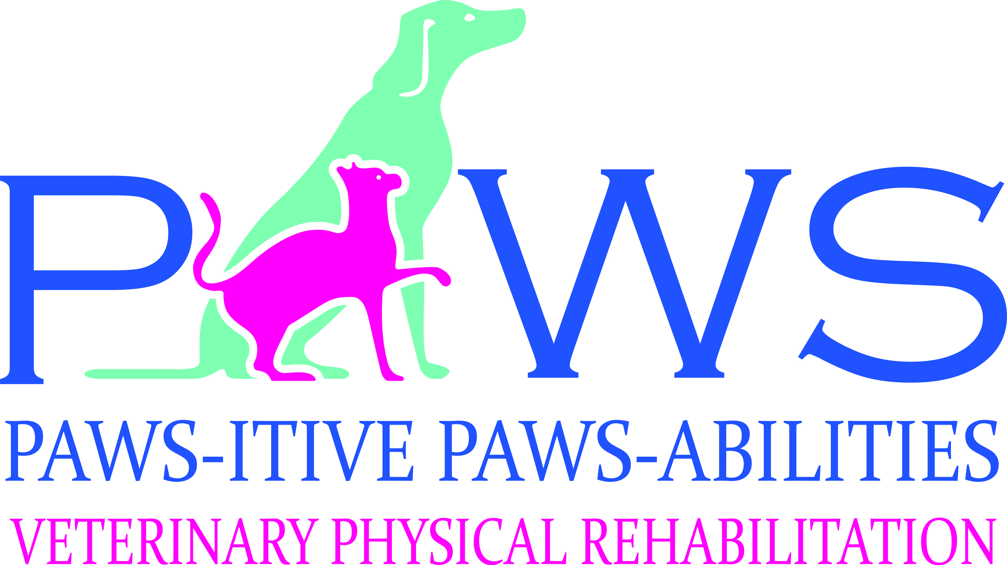 Paws-itive Paws-abilities logo