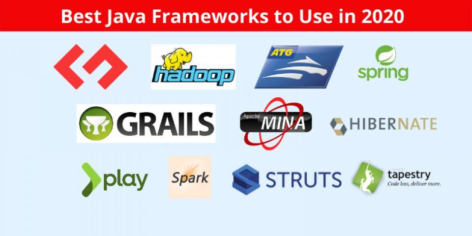 Top 10 Java Frameworks For Web App Development: 2020 Edition