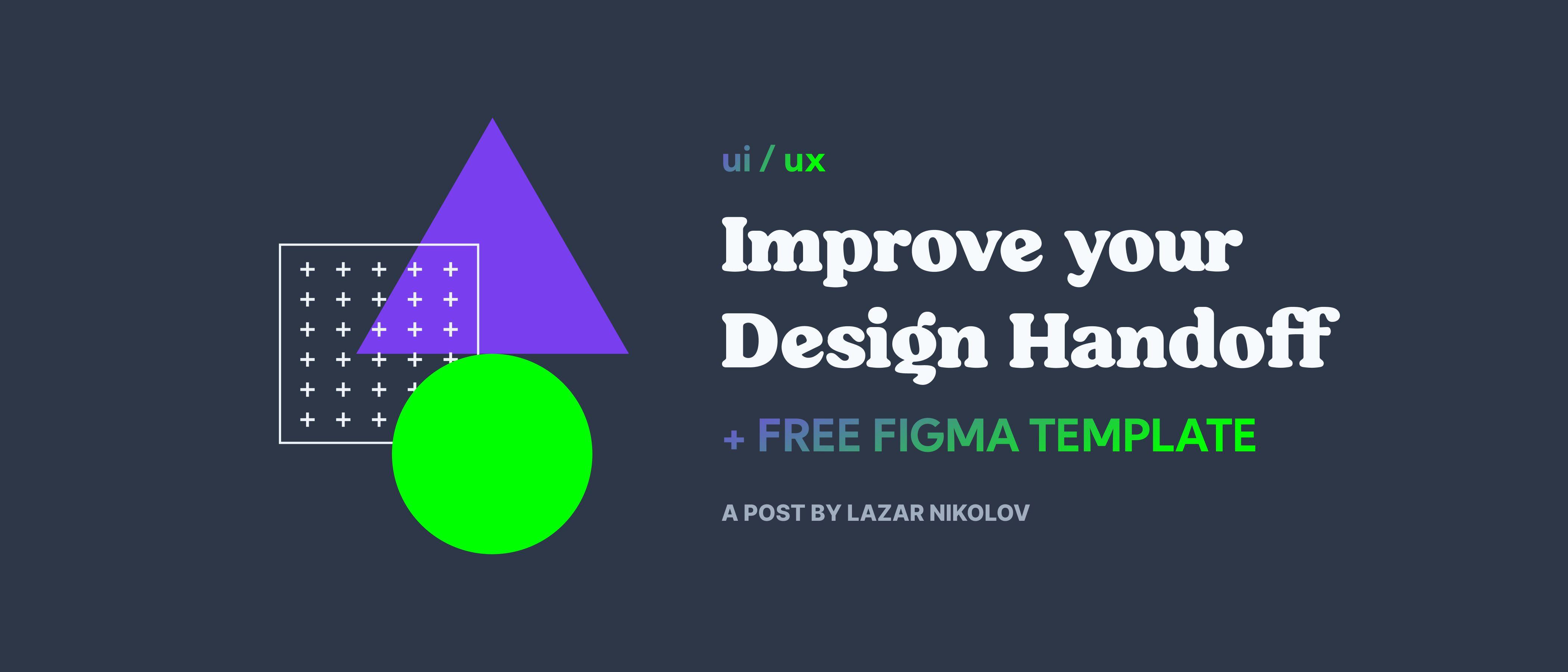 Improving Design Handoffs: A Guide