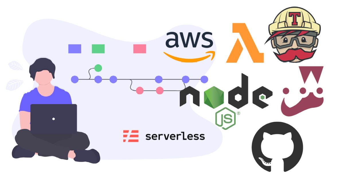 /cicd-pipeline-for-nodejs-lambdas-on-aws-using-jest-serverless-framework-github-and-travisci-fl1n3zr4 feature image