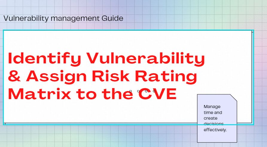 Network Vulnerabilities: How to Identify Them and Assign Risk Ratings