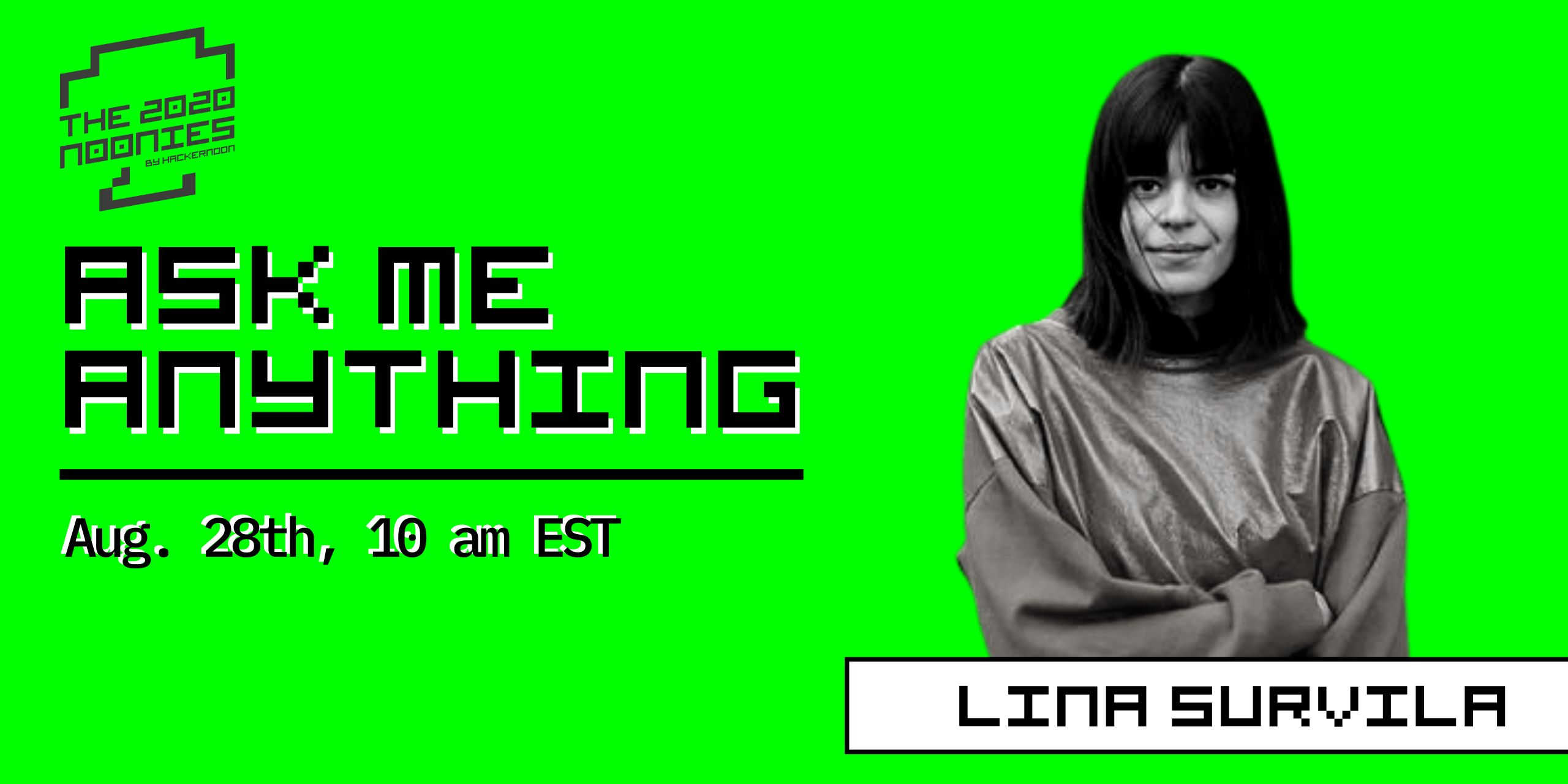 /ama-with-lina-survila-women-in-tech-awards-nominee-ty1e3uv5 feature image