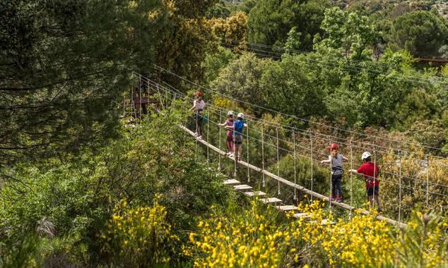 Aula en Hamelin: Naturaleza y Multiaventura en la Granja Escuela! - Actividad  (San Martín de Valdeiglesias)