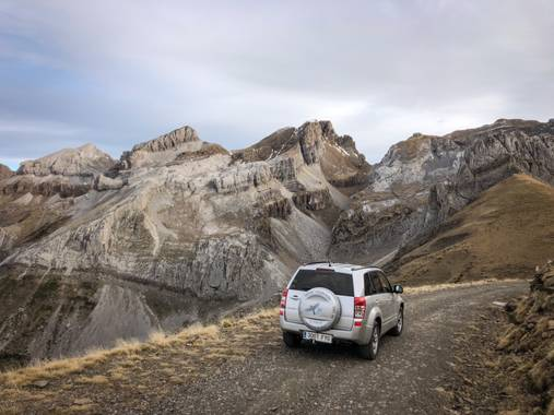 Ojospirenaicos en Hamelin: Rutas 4x4 en el Parque Natural de los Valles Occidentales. - Actividad  (Borau)