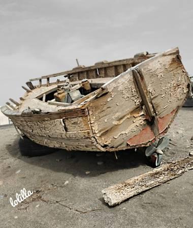 Loso.azu13 en Hamelin: Paisaje  (Níjar), Barquillo abandonado