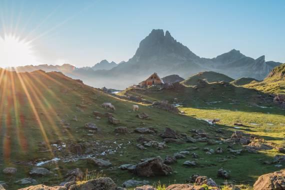 Manolomusanz en Hamelin: Paisaje  (Bagnères-de-Bigorre), Pirineo francés